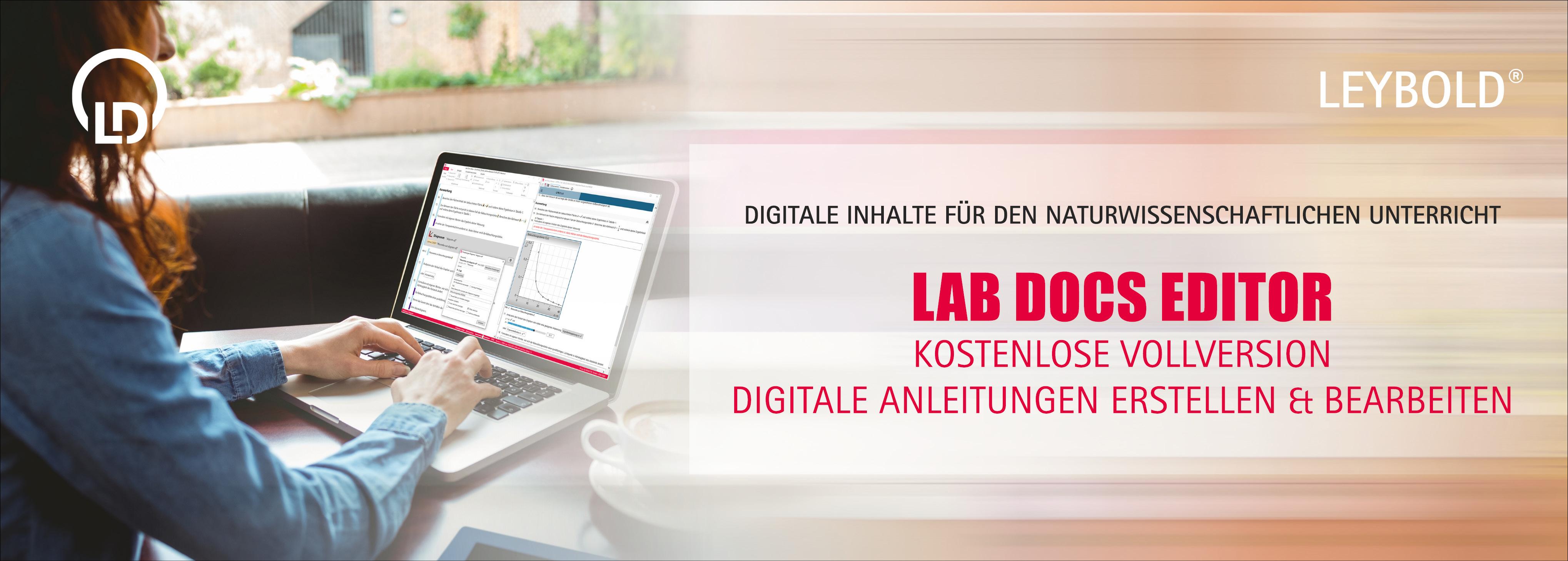 Lab Docs Editor Registrierung