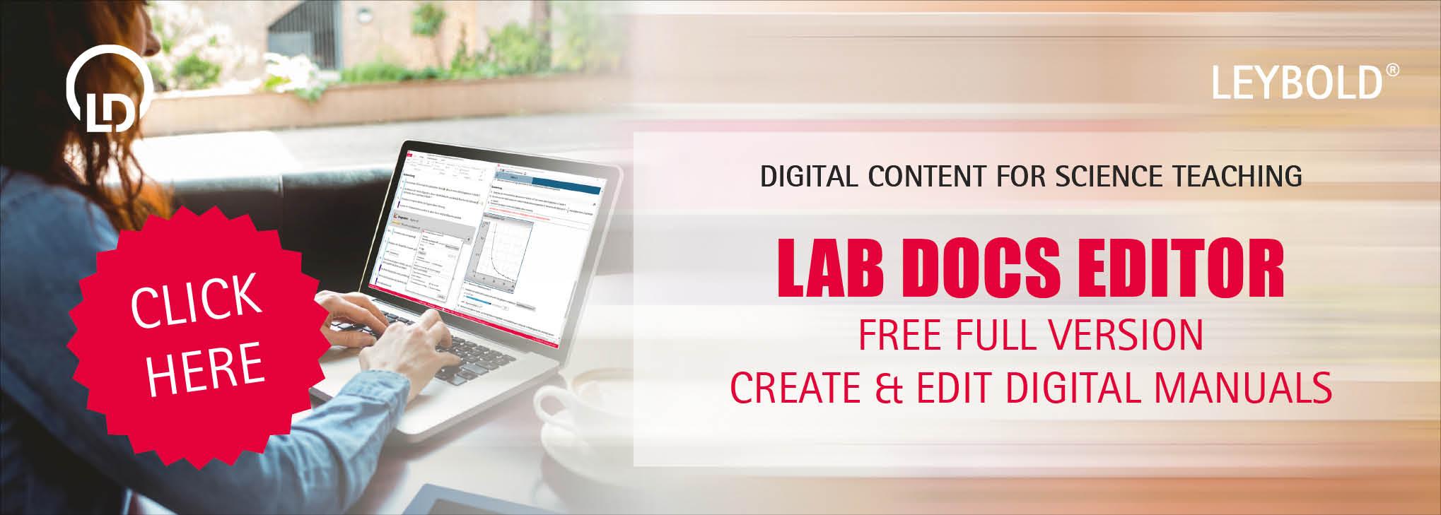 Registration Lab Docs Editor