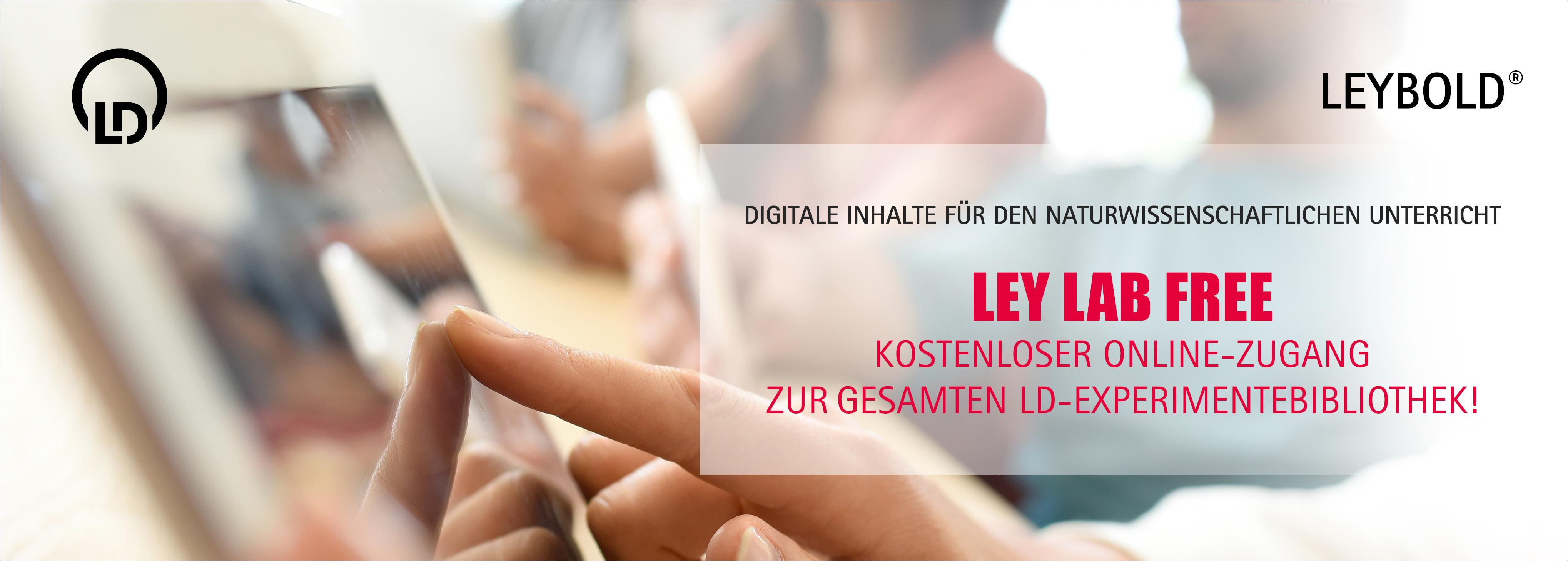 LeyLab - Kostenlose Registrierung